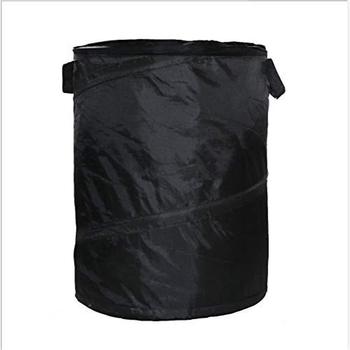 KEIBODETRD Gartenabfallsäcke Tragbare Falten Oxford Tuch Lagerung Eimer Garten Blätter Mülleimer für Hausgarten Lagerung Liefert