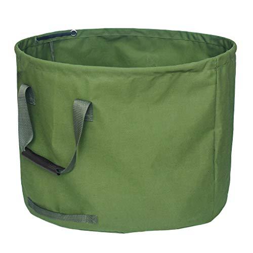 Gartensack aus robustem Tuch Selbstaufstellend, Perfekt für den großen Garten, auch als Innenraum Aufbewahrungsbeutel