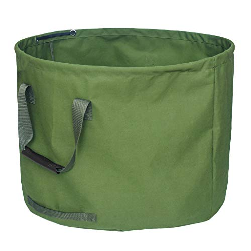 WOLTU/® 5X Gartensack 272L Abfallsack Selbstaufstellend Laubsack Gartenabf/älle Sack Gartentasche PP 150g//m/²