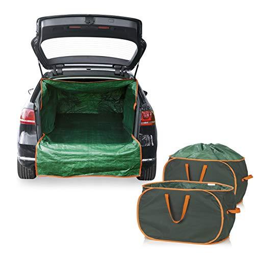 PRIMA GARDEN Gartenabfalltaschen & Kofferraum-Transportsack im Set