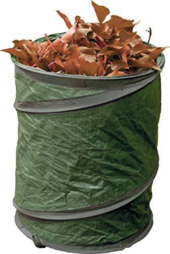 FARMERS FUN Pop-UP Gartensack, mit Tragegriffen, einfacher Transport von Gartenabfällen, selbstaufstellend (120 L)