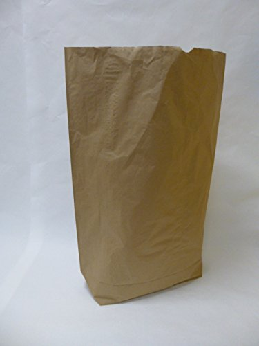 "50 St. Papier-Bioabfallsäcke 120l Format 70x95x22 cm Motiv: ""unbedruckt"", 2lagig, mit extra Bodendeckblatt"