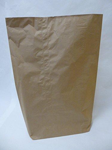 "20 St. Papier-Bioabfallsäcke 240l Format 80x120x30 cm Motiv: ""unbedruckt"", 2lagig, mit extra Bodendeckblatt"