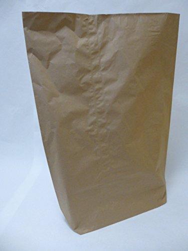 "50 St. Papier-Bioabfallsäcke 70l Format 55x85x20 cm Motiv: ""unbedruckt"", 2lagig, mit extra Bodendeckblatt"