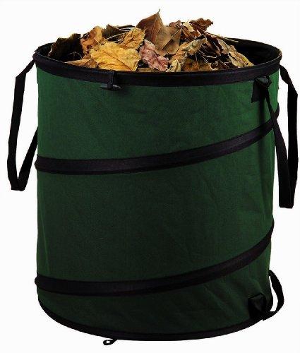 Gartensack 80 Liter selbstaufstellend Laubsack Laubsammler Abfallsack