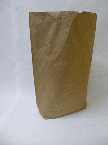"25 St. Papier-Bioabfallsäcke 70l Format 55x85x20 cm Motiv: ""unbedruckt"", 2lagig, mit extra Bodendeckblatt"