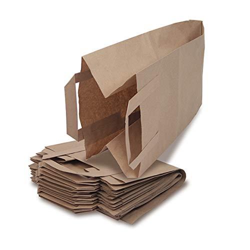 Bioabfalltüten - Tüte für den Bioabfall - Mit Henkel und Rollboden - 40 Stück - Bio Müllbeutel