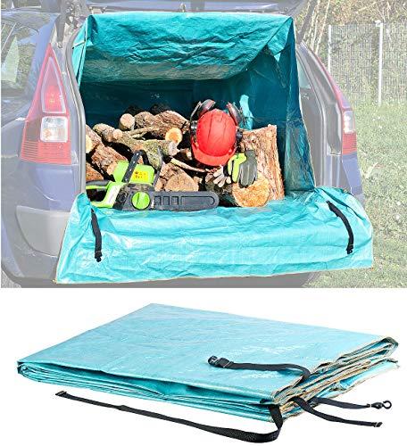 Lescars Transportsack: Universeller Transport-Sack für den Auto-Kofferraum, 1.288 Liter (Kofferraumschutz)