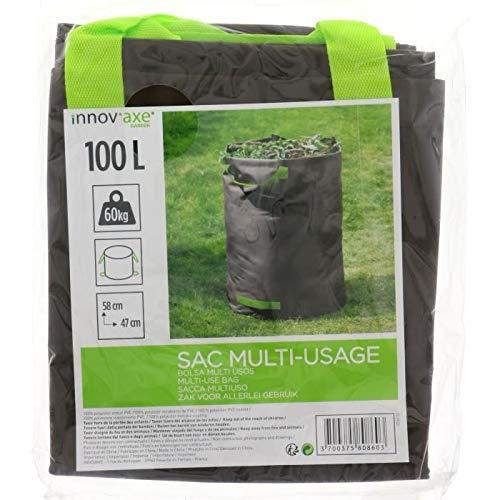 ShopVip Gartenabfallsack, vielseitig einsetzbar, für Pflanzen, Blätter, Gras, Holz, Terre robust