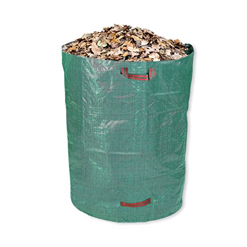 Schramm® Gartensack 300L Grün Robust Polypropylen Gewebe PP Gartensäcke Garten Sack Säcke Big Bag Laubabfall