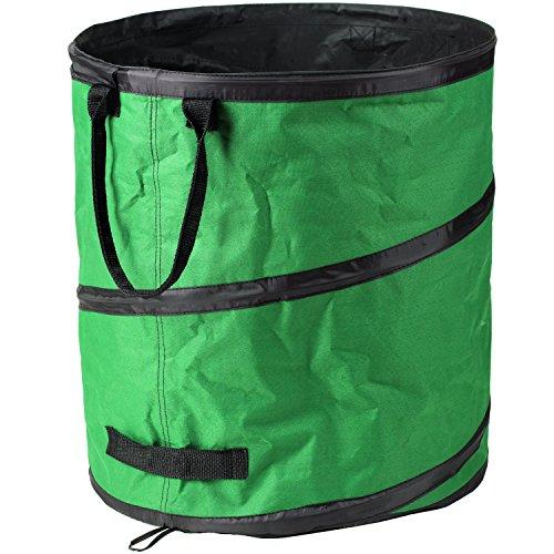 Freund Victoria Gartenabfallsack 67625 160l, Kunststoff, Grün/schwarz, 40 x 25 x 15 cm