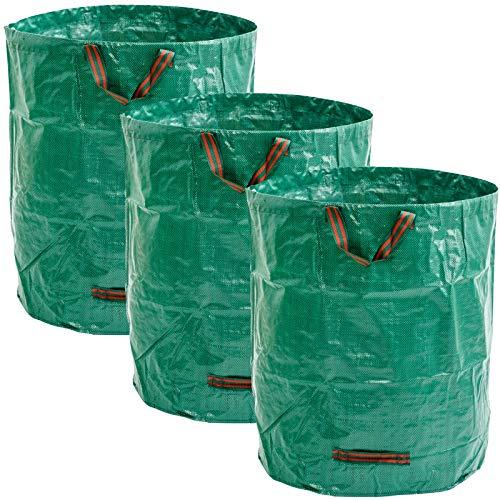 Masgard® Gartensack Laubsack Gartenabfallsack - Verschiedene Größen (3, 120 Liter)