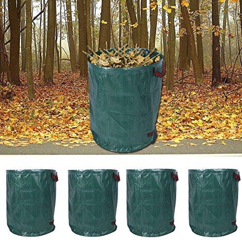 Großes Volumen 4er Set Gartensack Laubsack Gartenabfallsack Abfallsack Müllsack 270L 67 cm