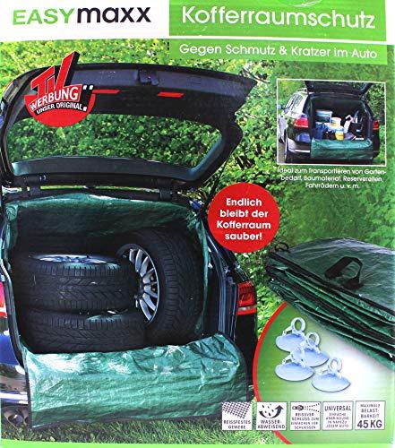 EASYmaxx Kofferraum-Transportsack L in Grün Garten Abfall Laub Sack Rasen Müll
